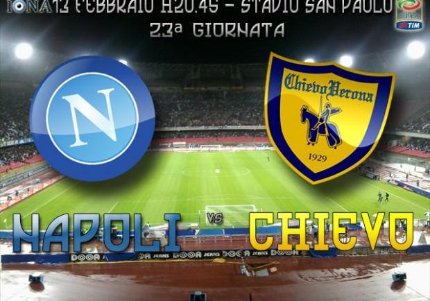 Napoli-Chievo, in casa dell'avversario