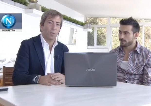 """[VIDEO]  Il Pocho Lavezzi risponde ai tifosi: """"Futuro? Resto a Napoli…"""""""