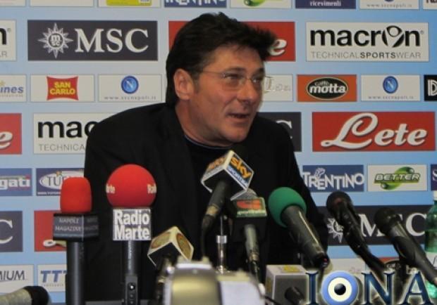 Mazzarri: «Napoli, umiltà e tre punti»