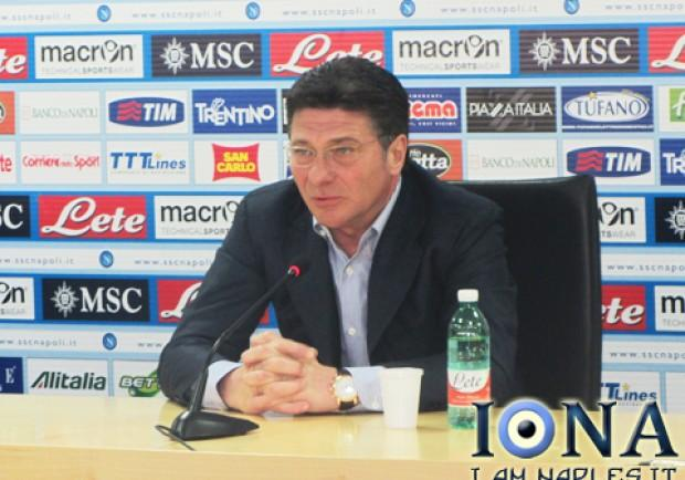 """[VIDEO] Mazzarri: """"Gol da calcio d'angolo? Sintomo di rilassamento"""""""