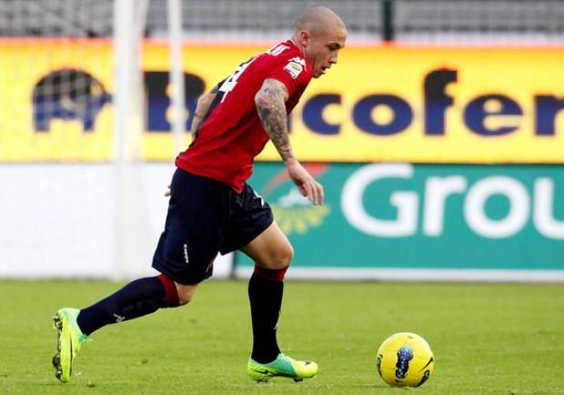 Cagliari-Bologna 1-0: Nainggolan fa sorridere il duo in panchina Pulga-Lopez