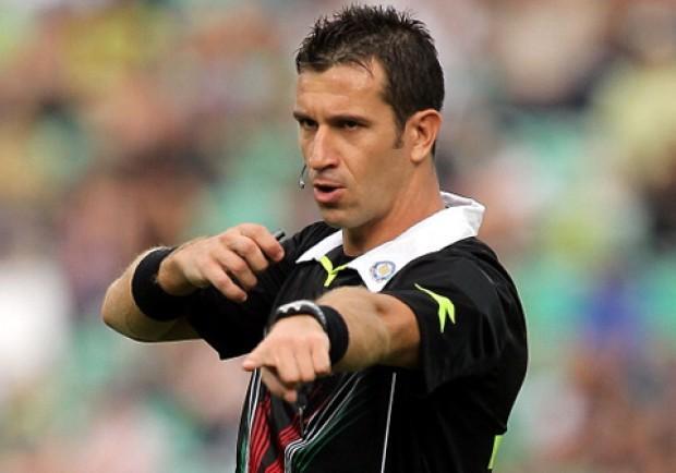 Napoli-Bologna, sarà Doveri l'arbitro del match