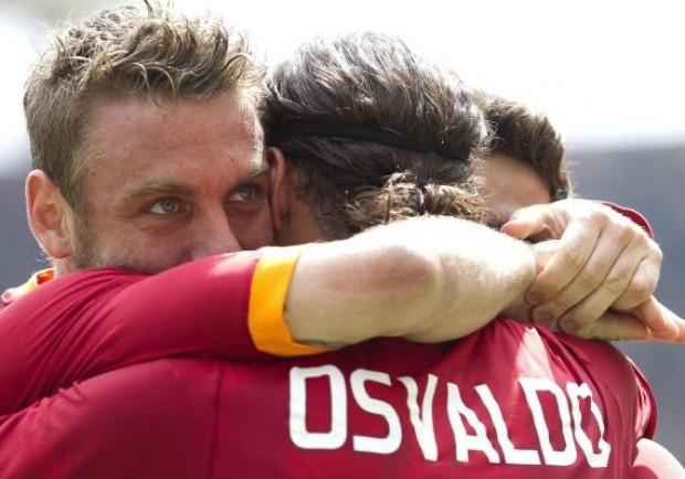 La Roma si diverte con il Novara: è 5-2