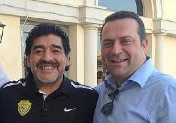 """Pisani (avv. Maradona): """"Diego contentissimo della dedica di Sorrentino, molto meno della sfida con il Livorno. Tornerà a Napoli per…"""""""