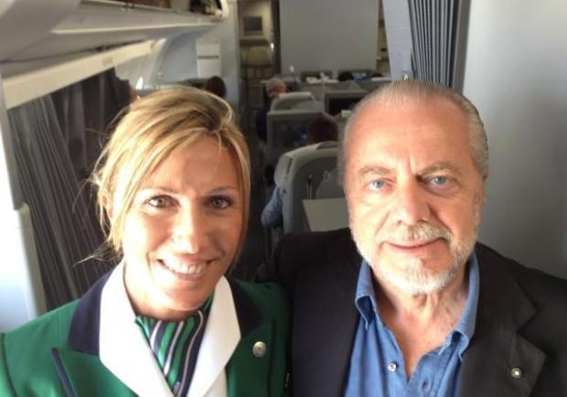 [FOTO] De Laurentiis in partenza per la Cina, inizia l'avventura