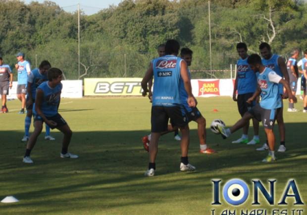 Castelvolturno, gli azzurri si preparano alla sfida contro la Fiorentina