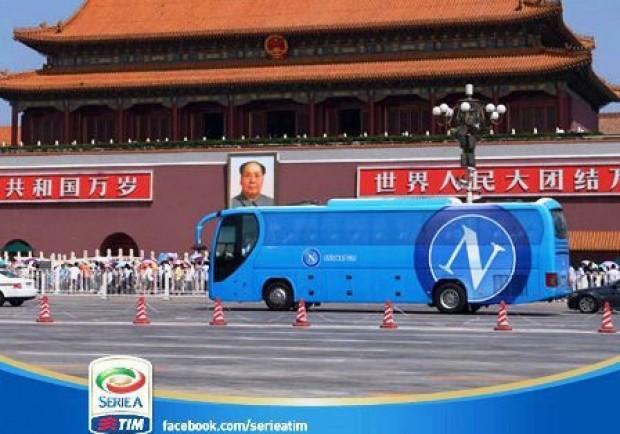 Dalla Cina con furore: i tifosi napoletani partono per Pechino