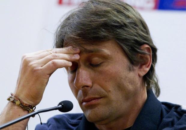 Conte, stop di dieci mesi. Squalifica confermata
