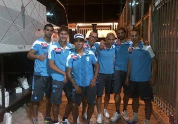 "[FOTO] Fernandez su Twitter: ""Ecco la banda"""