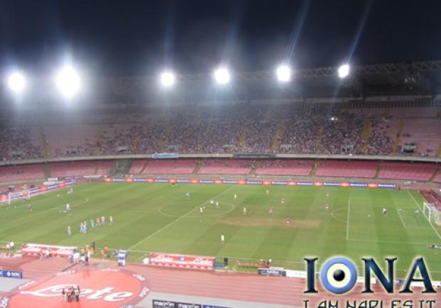 Napoli-Olympiacos, biglietti in vendita da venerdì