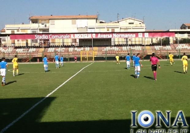 RILEGGI IL LIVE – Amichevole: Aversa Normanna-Napoli Primavera 2-2, buona la prova degli azzurrini