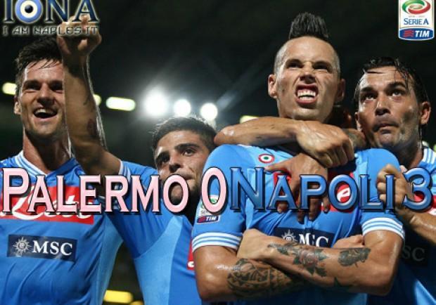 Palermo-Napoli 0-3, esordio col botto per gli azzurri. Ecco le pagelle di IamNaples.it