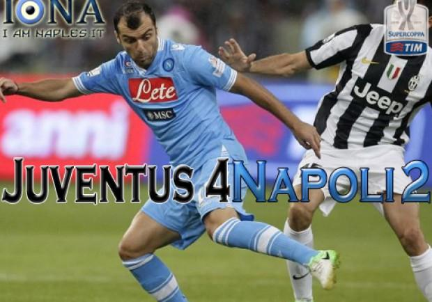 Supercoppa Italiana, Juventus-Napoli 4-2: rabbia azzurra! Ecco le pagelle di IamNaples.it