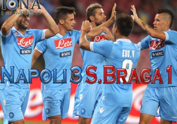 Napoli-Braga 3-1. Ecco le pagelle di IamNaples.it