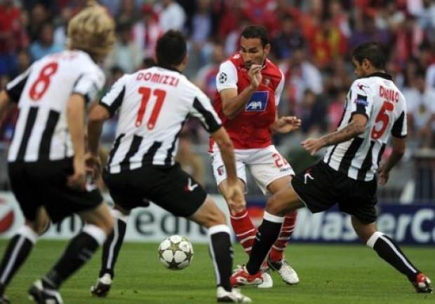 Champions League: Udinese ko ai rigori. In Champions ci va il Braga