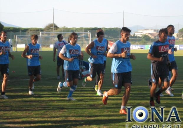 Gli azzurri verso il match contro il Dnipro
