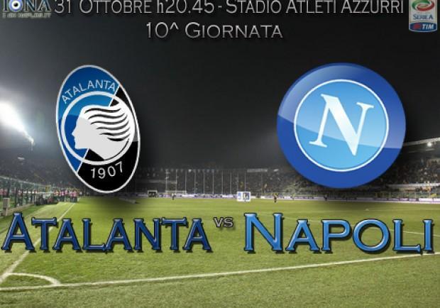 Atalanta-Napoli, in casa dell'avversario