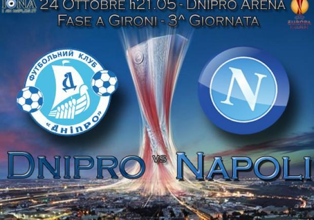 RILEGGI IL LIVE- Dnipro-Napoli 3-1