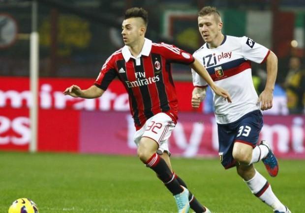 Milan-Genoa 1-0: El Shaarawy rinvia il processo ad Allegri