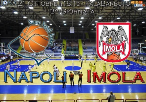 Nuovo Napoli Basket, il tuo campionato comincia adesso! Al PalaBarbuto c'è Imola