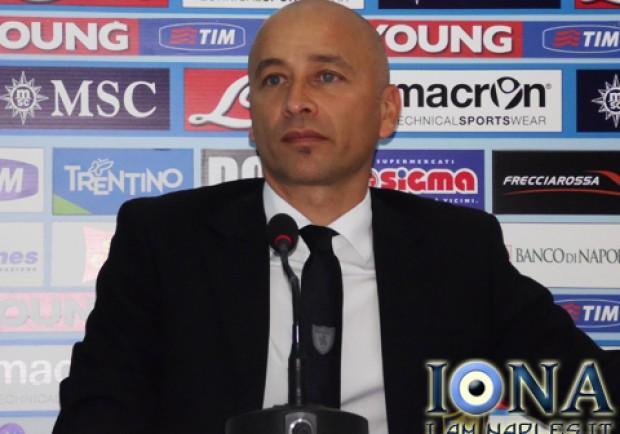 """Corini in conferenza stampa: """"Il Napoli sarà una diretta concorrente della Juventus"""""""