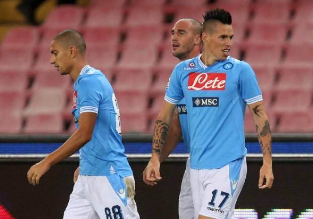 Il Napoli si riprende con rabbia il ruolo di anti – Juve