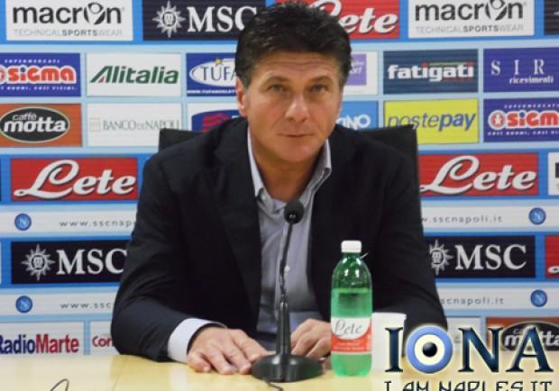 """Mazzarri: """"Voglio un Napoli convinto e vincente. Il San Paolo ci aiuterà"""""""