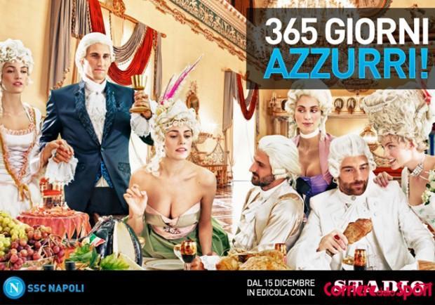 Calendario Del Napoli.Video Lo Spot Del Calendario Del Napoli Per Il 2013