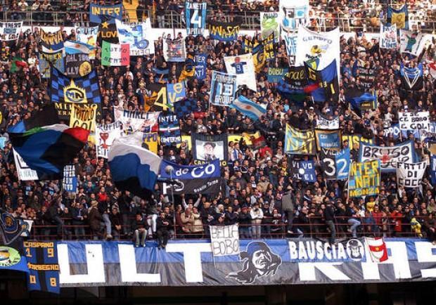 Frosinone-Inter, cori contro Napoli da parte dei tifosi nerazzurri