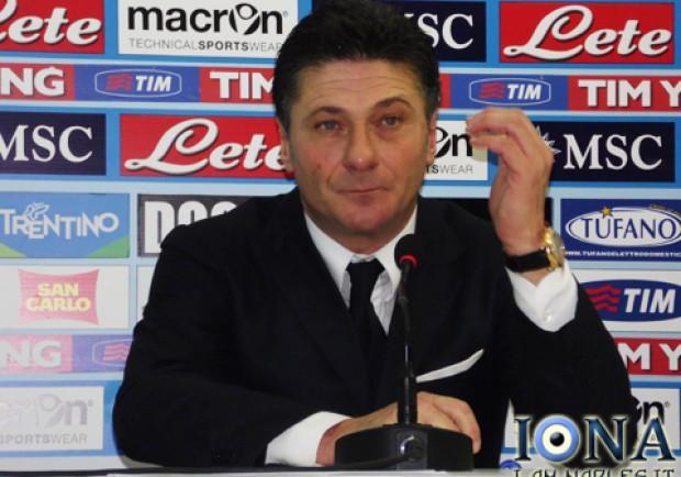 """Mazzarri in conferenza stampa: """"E' Grava il vero campione. Penso già a martedi"""""""