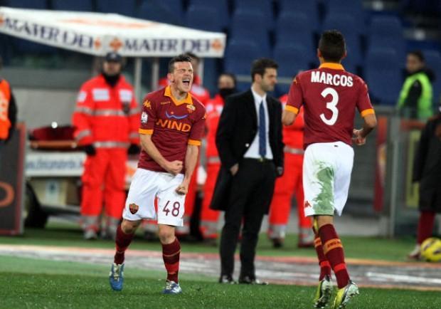 COPPA ITALIA – Roma-Inter 2-1, il gol di Palacio rende più incerta la gara di ritorno