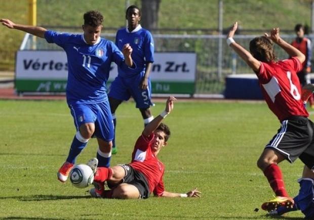 UNDER 17 Italia – Spagna 0-1: bella prova di Tutino. 55 minuti per Palmiero