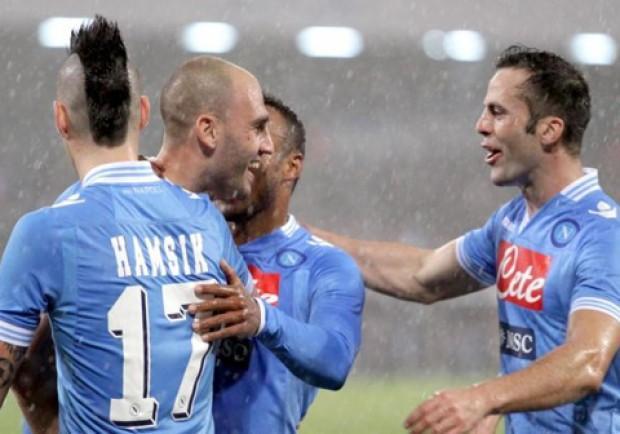 [VIDEO] Napoli-Catania 2-0, ecco i gol di Hamsik e Cannavaro