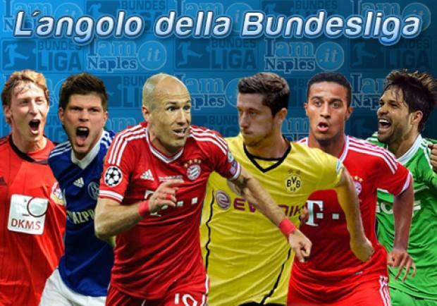 VIDEO – L'Angolo della Bundesliga: Bayern, con lo Schalke finisce pari. Leverkusen forza 4. Vince il Borussia