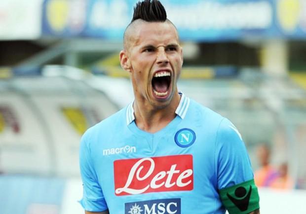Hamsik: 'Contiamo di soffiare il secondo posto alla Roma. Col Sassuolo buoni segnali'