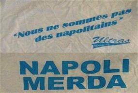 Maglie Marsiglia anti-Napoli