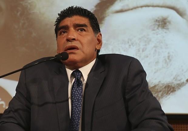 Maradona è arrivato al San Paolo! Diego è allo stadio per assistere a Napoli-Roma