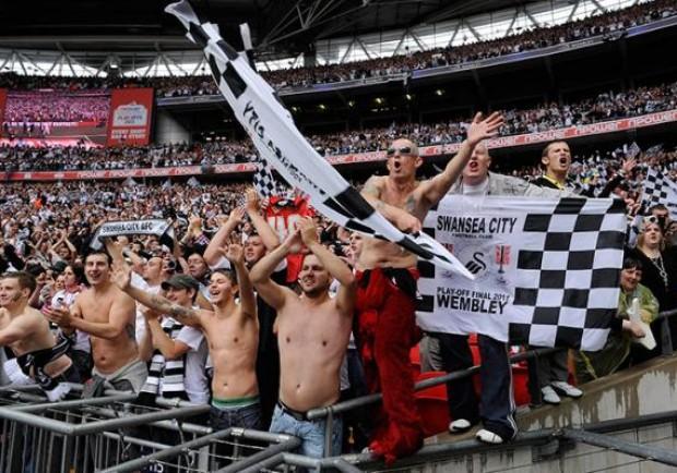 Lo Swansea cautela i suoi tifosi in trasferta. Messe a disposizione intere linee di autobus