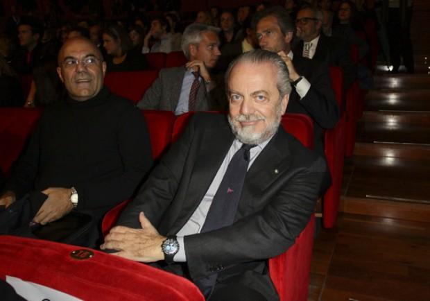 """Napoli, De Laurentiis ospite di """"Fox sports"""": il presidente interverrà in Tv"""