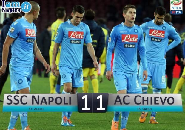 Napoli-Chievo 1-1, le pagelle di IamNaples.it: Mertens profeta nel deserto, Maggio da dimenticare