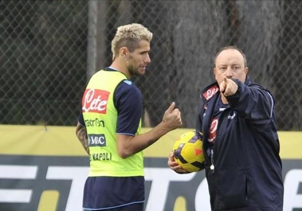 Napoli, ecco i convocati di Benitez: Behrami parte col gruppo