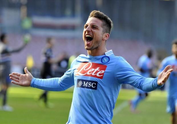 Dries Mertens, l'unico sorriso nella notte di Livorno