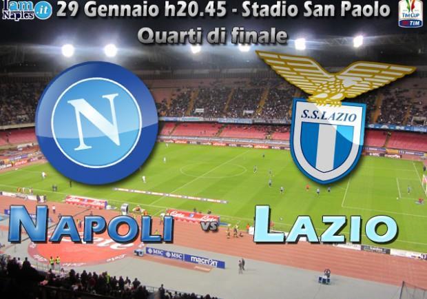 Coppa Italia, Napoli-Lazio, in casa dell'avversario. Con Reja riacquistate fiducia e solidità