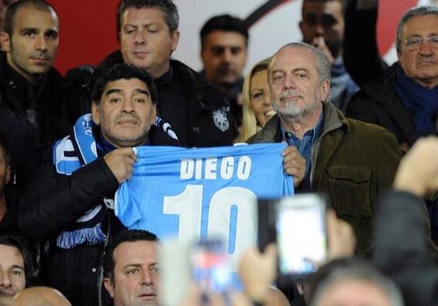 Maradona, l'incontro con Rivellini in onda su Julie Italia