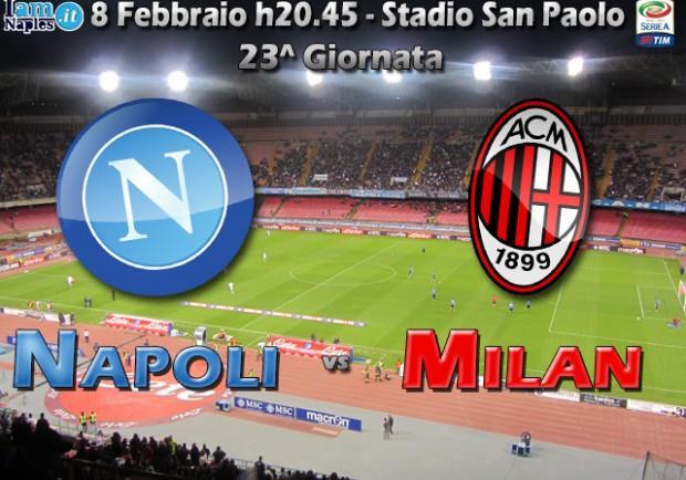 Napoli-Milan, in casa dell'avversario. Spettacolo assicurato, tanti difetti per la squadra di Seedorf