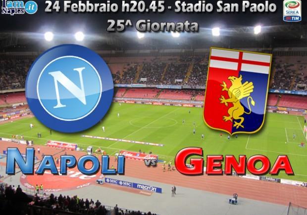 GRAFICO – Napoli-Genoa, le formazioni: due ballottaggi per Benitez, Gasperini col tridente