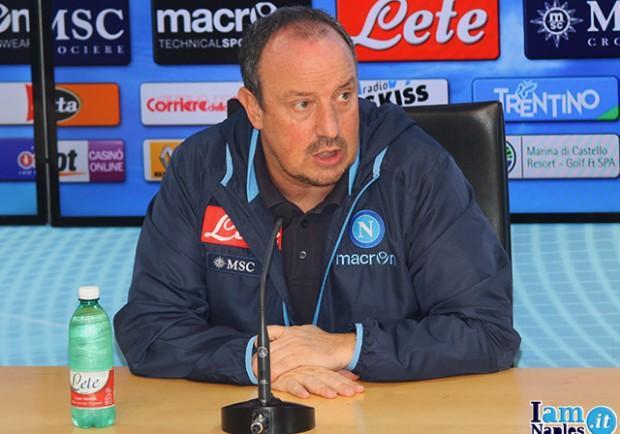 """Benitez: """"Napoli, per diventare una vera grande occorrono strutture e settore giovanile"""""""