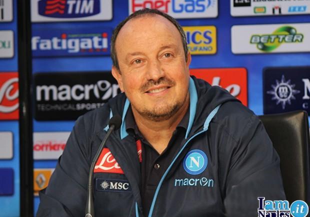 Benitez: «Per andare in finale serve tutto il Napoli»