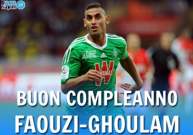 1 Febbraio 2014: primo compleanno azzurro per Ghoulam. Ventitré volte auguri, Faouzi!