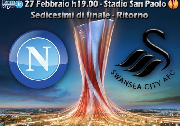 Napoli-Swansea, in casa dell'avversario: il San Paolo per neutralizzare le insidie gallesi